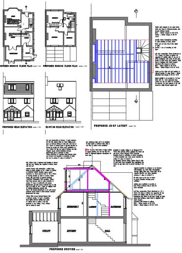 Loft construction process valley loft conversions for Loft floor construction